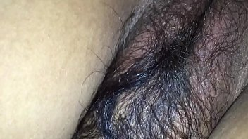 Indian bitches getting fucked Hairy wife in black bra tight asshole enjoying doggy style with husband friend