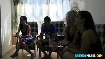 two mature and two young girls fucked by their boyfriends like sows
