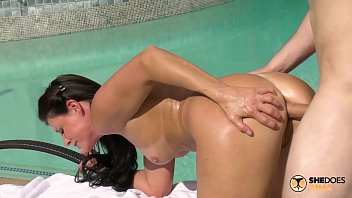 Does a vagina change after pregnancy Shedoesanal - poolside anal sex with milf india summer