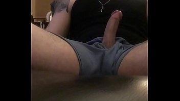 Self suck my big cock and shoot cumshot all over