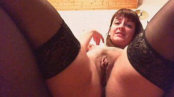 Streaming Video Your mother has a surprise for you today she knows that you love watching her while she masturbates her hairy pussy - XLXX.video