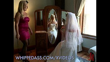 Bdsm bride Whipping the bride