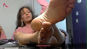 Mature Lady Smokes While You Worship Her Feet