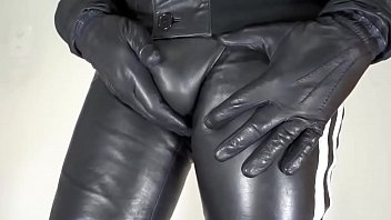 Sexy leather pants gay Soft nappa leather pants