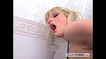 Lucky guy got it all with 2 blondes NL-12-03
