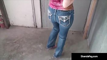 Naughty Housewife Shanda Fay Takes Her Hubby's Dick & His Warm Load in her Wet Mouth at a Auto Shop! Part of The Outdoor Adventure Video Collection! See the full Video-Live @ShandaFay.com!