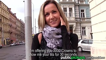 Pay breasts flash - Mofos - blanka grain gets picked up in public