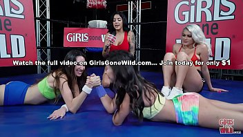 GIRLS GONE WILD - Hot Young Babes Practicing Self Defense