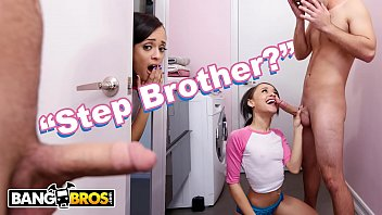 Young anal and black Bangbros - teen holly hendrix is almost caught fucking her stepbrother