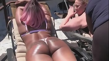 Julio Gomez Giant Cock and two MILFs