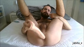 Me gaping my hole with my big dildo!