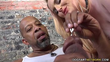 Harmoni Kalifornia Takes A Big Black Cock In Front Of A Cuckold