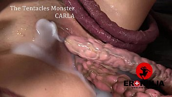 Pussy belly expand tentacle - The tentacles monster carla crouz