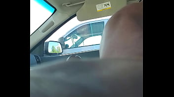 Dick Flash From Car