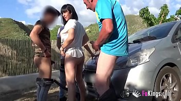 Outdoor gang bang - I want my wife to be fucked by lots of cocks im cuckold and i like it