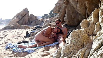 Couple Caught Having Sex At The Beach