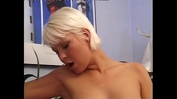 Short haired blond blowjob video This short hair blondie just need a big cock