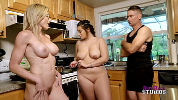Sex with Step Family for Breakfast - Britt James and Cory Chase