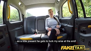 Fake Taxi Horny blonde bombshell Barbie takes it deep in the ass