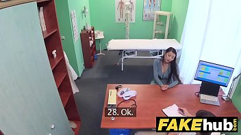 Fake Hospital Cock Hungry Oriental French Chick Gets Deep Pussy Fucking