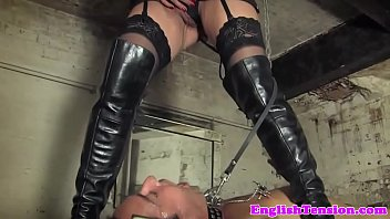 Bondage pissing treatment for sub