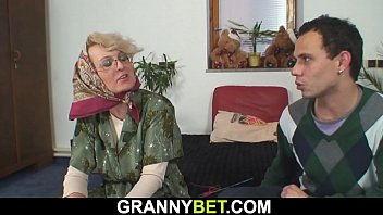 Stranger doggyfucks mature woman