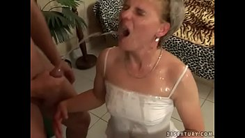 Piss granny - Old slut madeline gets destroyed by her young lover