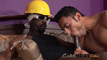 """Cum Meat - Hot Interracial Gay Sex with a Huge BBC <span class=""""duration"""">22 min</span>"""