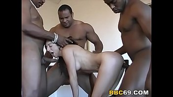 Black Cock Slut Curious Does Interracial Gangbang
