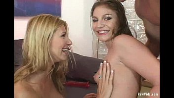 Two Naughty Blonde Sizzling Threesome