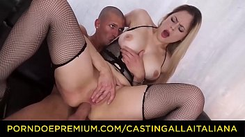 CASTING ALLA ITALIANA – Blondie Amateur Tries Deep Anal On Cam