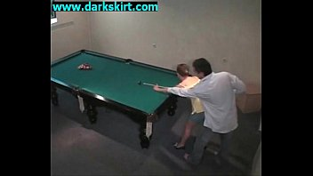 Nude pool table salesgirl Gbsev 01 01