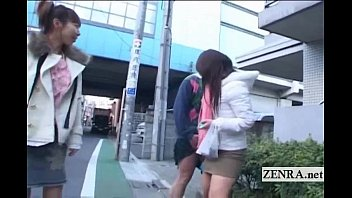 Publicly embarrassed pussy Subtitled crazy public japanese crossdressing femdom