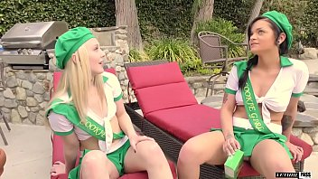 Kylie Foxx and Lily Rader are BFFs that love to fuck older guys