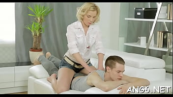 Dissolute blonde youngster Angie Koks fucked good