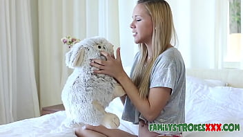 Teen Humps Stuffed Animal Fucked By StepBrother