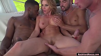 Mature Blue Angy anal and dp gangbanged