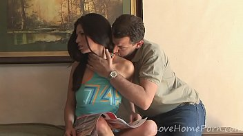 teen babe decides to pleasure her landlord