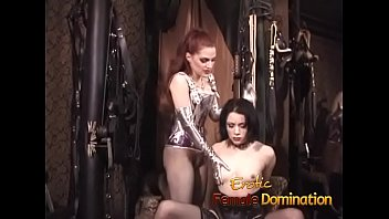 Only beautiful girls with sexy bodies can be slaves in this sex dungeon