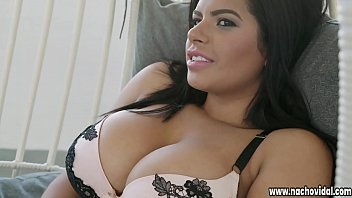 Nacho Vidal spreads Sheila's generous thighs, burying his face in her pussy. He plows her with his giant, Latin cock as she strokes her clit.