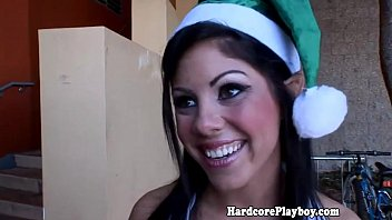 Forced santa clause blow job Amateur elf babe fucking santas hard pole