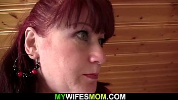 My girlfriends mom is very hot and horny