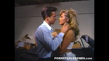 Vintage auto accidents Peter north fucks a hot blond slut in a parked car