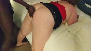 Sexy Milf Eva loves taking her black stud's bbc deep in her married white pussy. They finish up by fucking her in the ass roughly. They definitely took what they wanted from this hot wife.