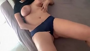 Pervy bro caught step sister masturbating and fucked her !!