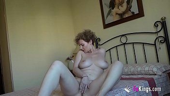 Busty MILF Mercé's gonna fuck a 18yo rookie guys she teaches dance lessons to