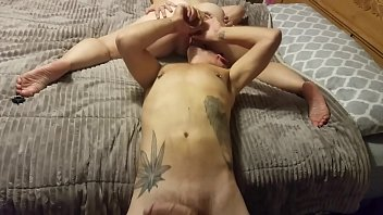 Squirting On His Face - Horny Nicky