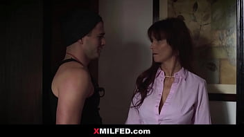 Rebel Son Cheating his Strict Mom - XMILFED.com