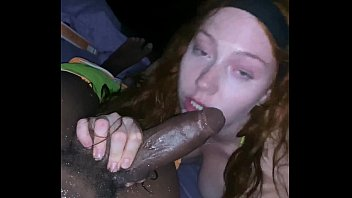 Slutty Redhead Gets Pounded and Creampied by BBC On Beach porno izle