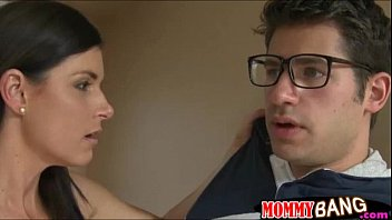 India Summer threesome in the bathroom with her stepdaughter